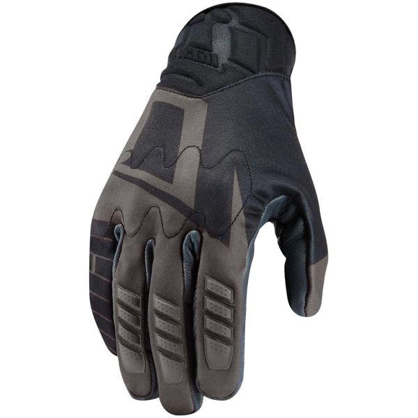 gants moto icon wireform glove black au meilleur prix. Black Bedroom Furniture Sets. Home Design Ideas