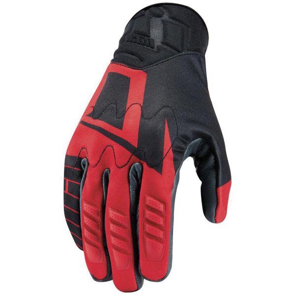 Gants Moto ICON Wireform Glove Red