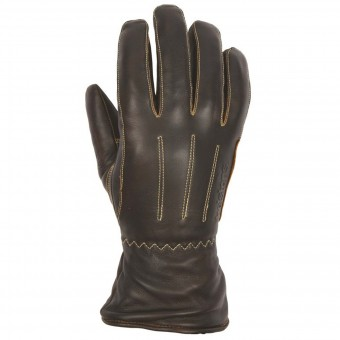Gants Moto Helstons Wynona Woman Leather Brown