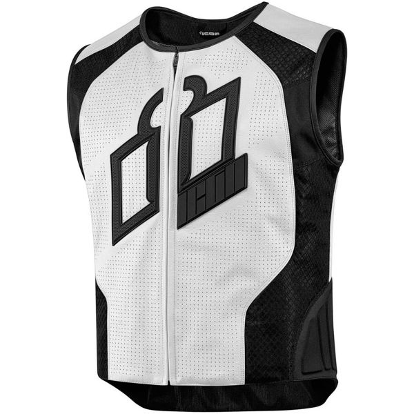 Gilet Moto ICON Hypersport Prime White