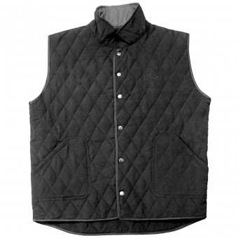 Gilet Moto Ride & Sons Thermal Vest Black