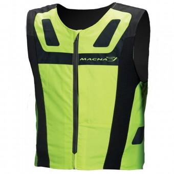 Gilet Moto Macna Vision 4 All Plus Neon Yellow
