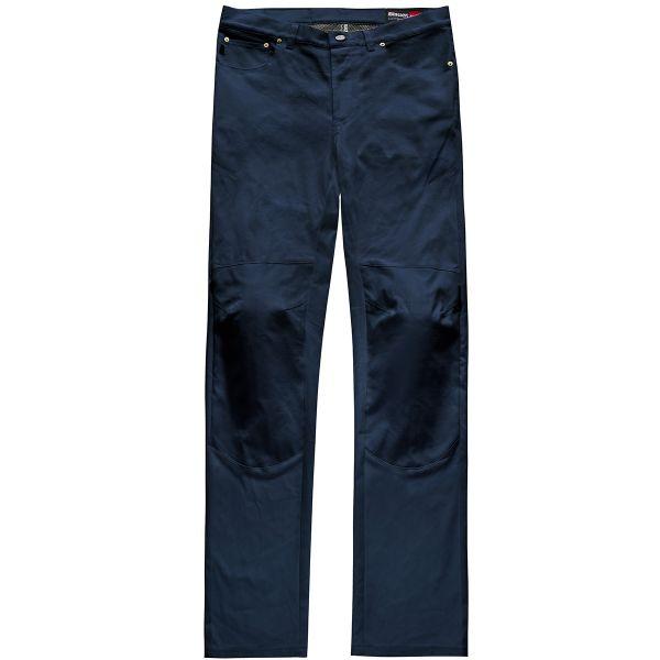 Jeans Moto Blauer Kanvas Blue