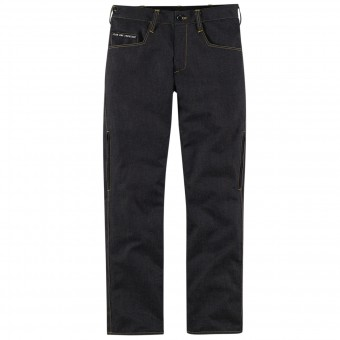Pantalon Moto ICON 1000 Rouser Denim Dark Indigo