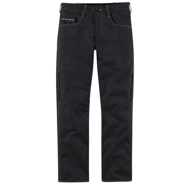 Pantalon Moto ICON 1000 Rouser Denim Dark Indigo