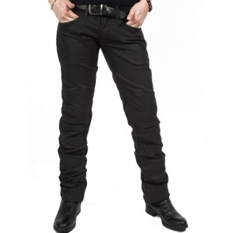Jeans Moto Esquad Chiloë Black Brown Waxed