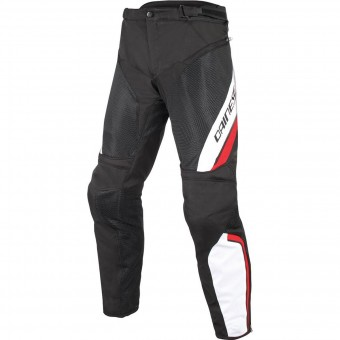 Pantalon Moto Dainese Drake Air D-Dry Black White Red