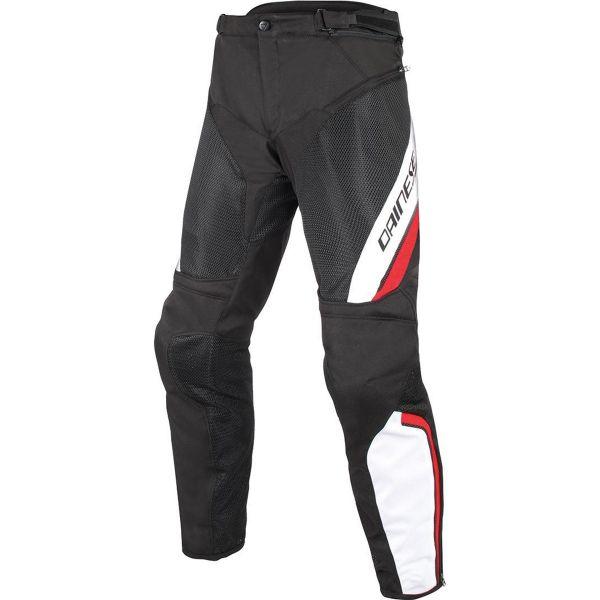 Pantalon Moto Dainese Drake Air D-Dry Black White Red