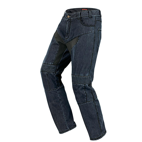 Pantalon Moto Spidi Furious Bleu Noir