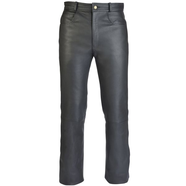 Jeans Moto Soubirac Jean Cuir Sympatex Noir