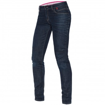 Pantalon Moto Dainese Belleville Slim Lady 3D Washed
