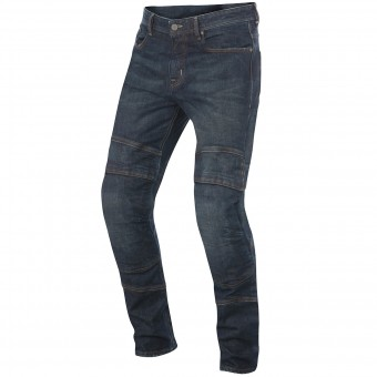 Jeans Moto Alpinestars Crank Pro Denim Greaser Dirty