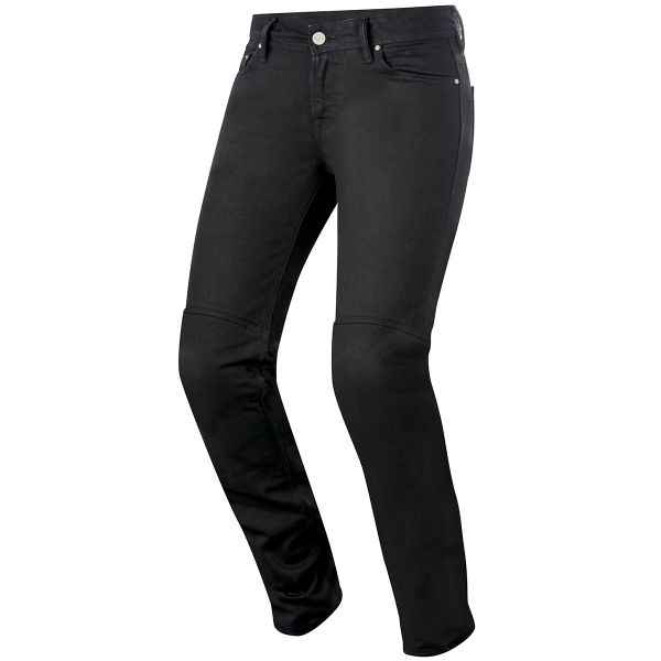 Jeans Moto Alpinestars Daisy Women Pro Denim Black