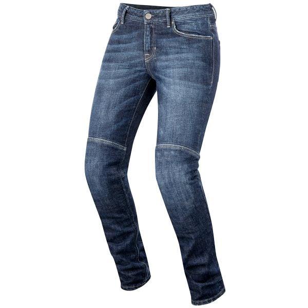 Jeans Moto Alpinestars Daisy Women Pro Denim Dark Rinse