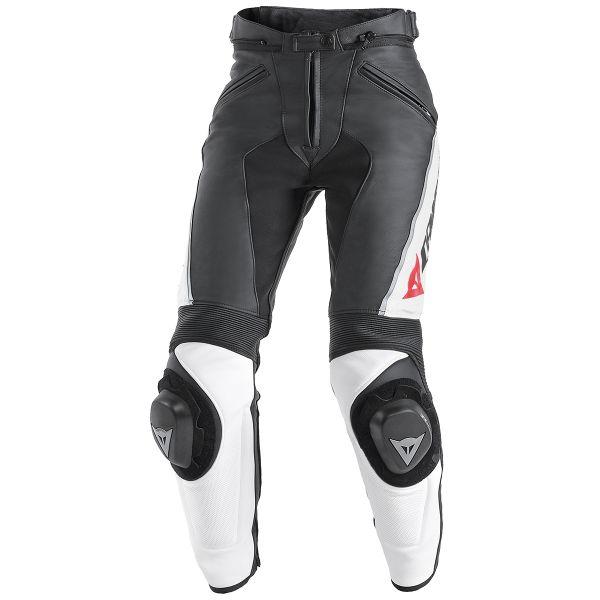 pantalon moto dainese delta pro c2 lady black white au meilleur prix. Black Bedroom Furniture Sets. Home Design Ideas