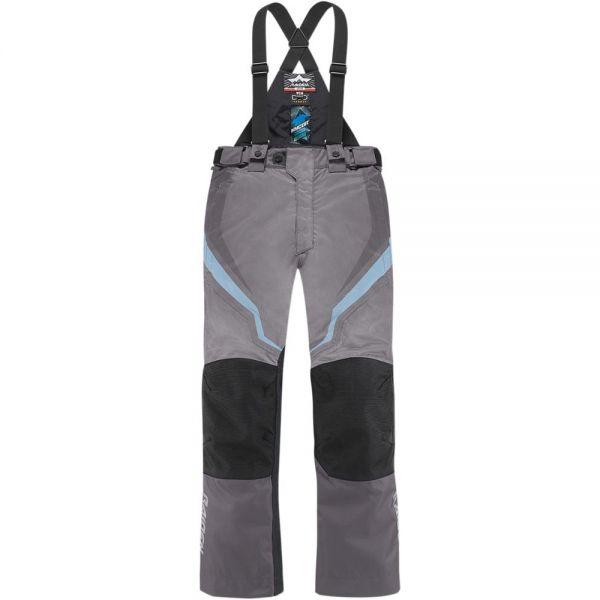 Pantalon Moto ICON DKR Pant Woman Charcoal