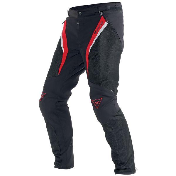Pantalon Moto Dainese Drake Super Air Black Red White