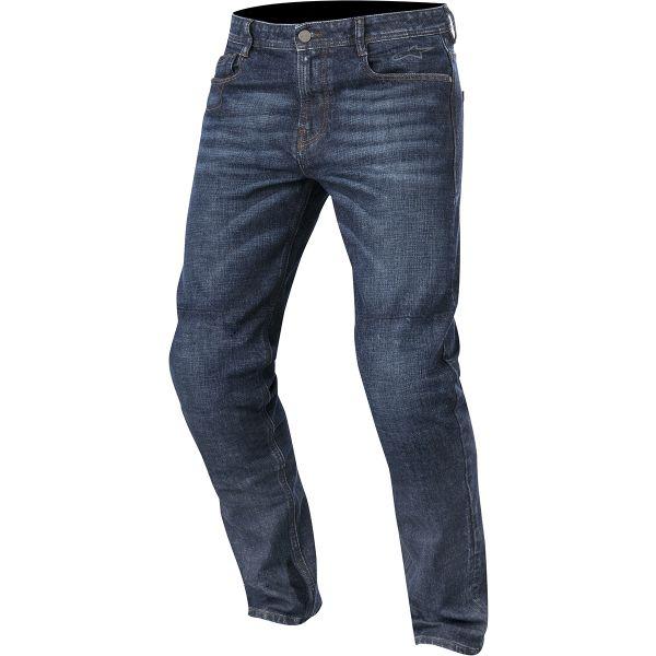 Pantalon Moto Alpinestars Duple Denim Kevlar Rough Blue