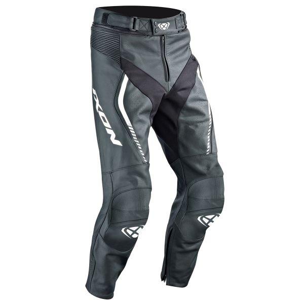 Pantalon Moto Ixon Fighter Pant Black White