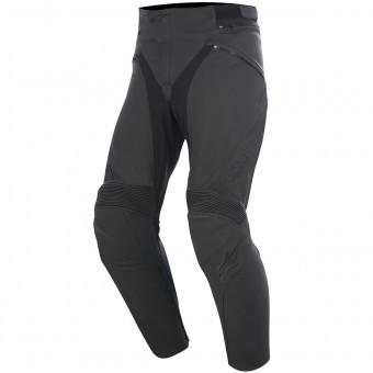 Pantalon Moto Alpinestars Jagg Leather Black Black