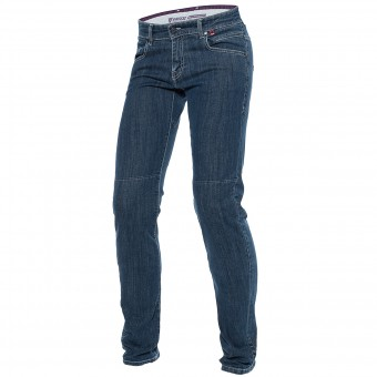 Jeans Moto Dainese Kateville Lady Super S Washed
