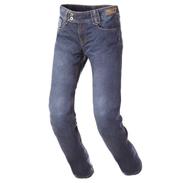 Pantalon Moto Bering Lady Elton Bleu
