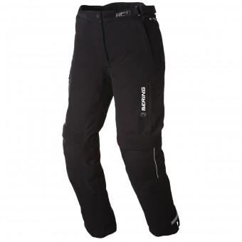 Pantalon Moto Bering Lady Safari Black White Pant
