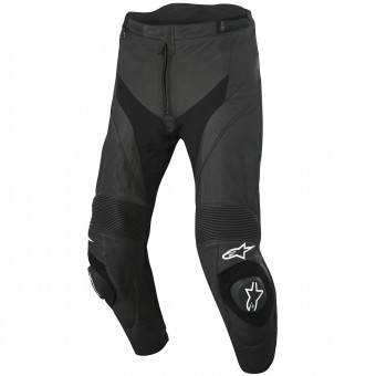 Pantalon Moto Alpinestars Missile Airflow Leather Black