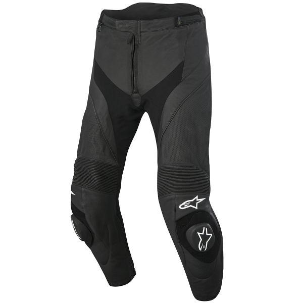 Pantalon Moto Alpinestars Missile Airflow Leather Black