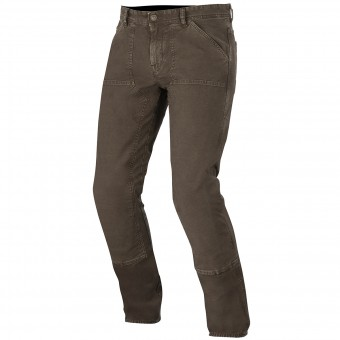 Pantalon Moto Alpinestars Oscar Tom Canvas Brown