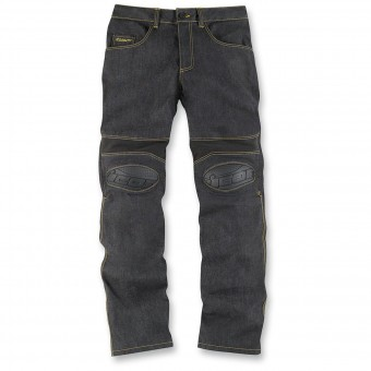 Pantalon Moto ICON Overlord Riding Pant Dark Indigo