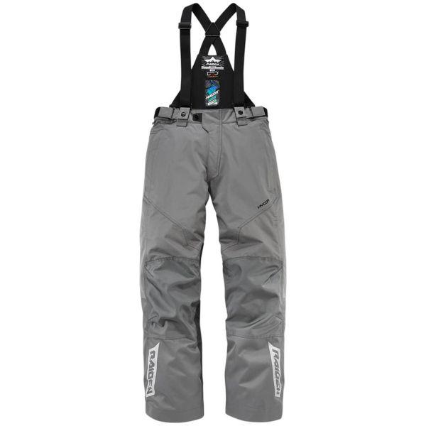 Pantalon Moto ICON Raiden DKR Monochromatic Grey Pant