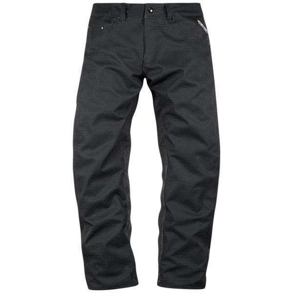 Pantalon Moto ICON Raiden UX Waterproof Pant Black
