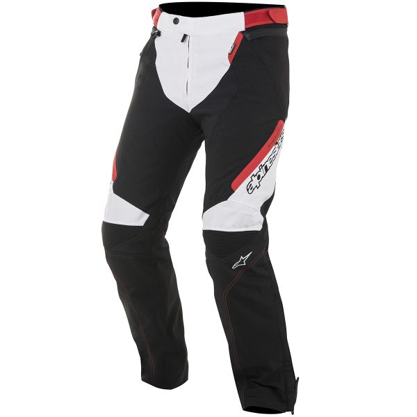 Pantalon Moto Alpinestars Raider Drystar Black White Red Pants