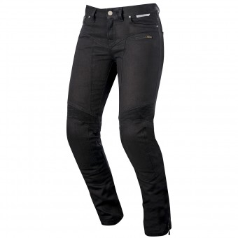 Jeans Moto Alpinestars Riley Women Pro Denim Black