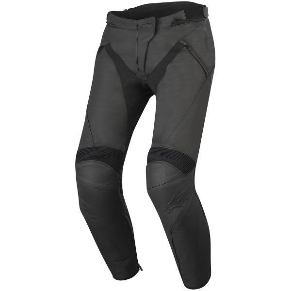 Pantalon Moto Alpinestars Stella Jagg Leather Black Black