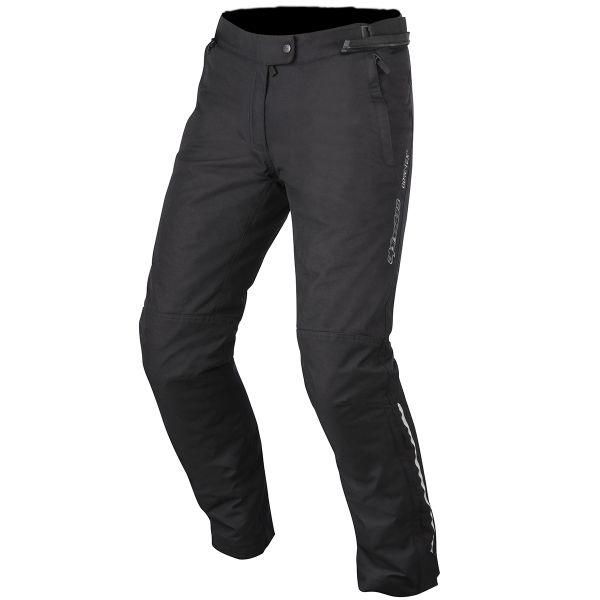 pantalon moto alpinestars stella patron gore tex black pants en stock. Black Bedroom Furniture Sets. Home Design Ideas
