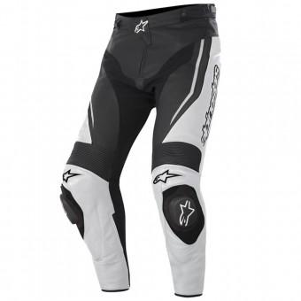 Pantalon Moto Alpinestars Track Pant Noir Blanc