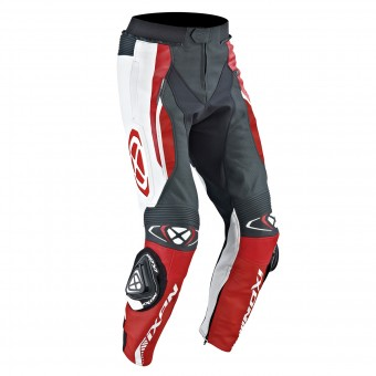 Pantalon Moto Ixon Vortex Pant Black White Red