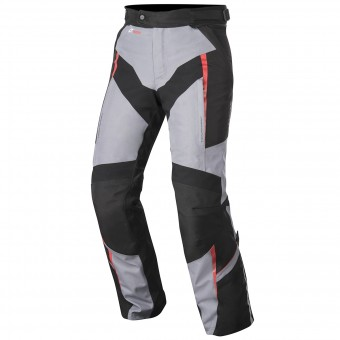 Pantalon Moto Alpinestars Yokohama Drystar Grey Red Pants