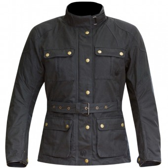 Blouson Moto Merlin Ashley Wax Lady Black