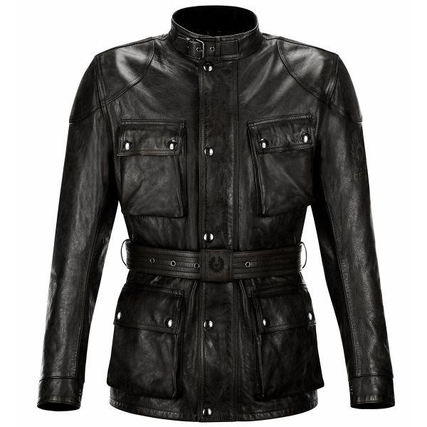Veste Moto Belstaff Classic Trophy Leather Black