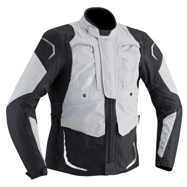 Blouson Moto Ixon Cross Air Grey Black