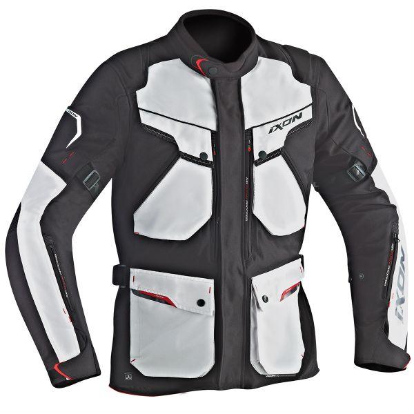 Veste Moto Ixon Crosstour HP Black Grey