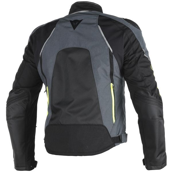 Dainese Hawker D-Dry Black Ebony Yellow Fluo