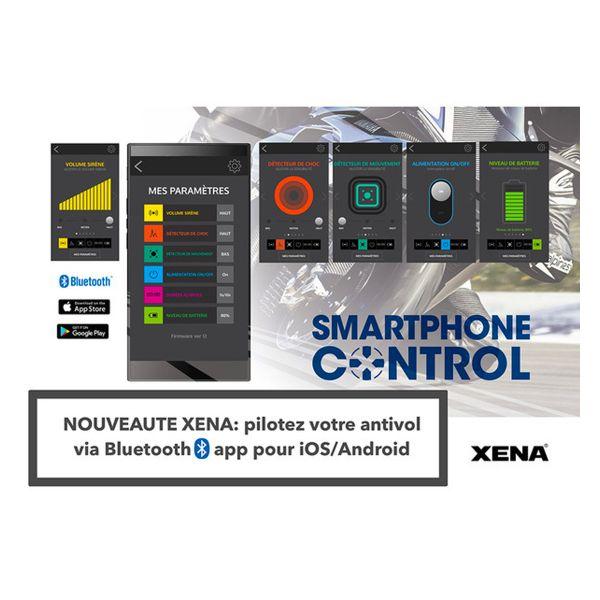 Xena Bloque disque Alarme XX10 Bluetooth SRA