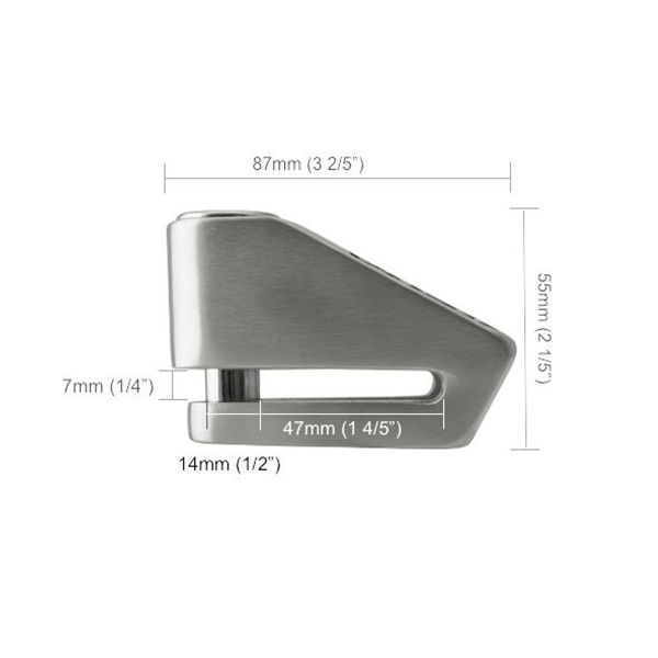 Xena Bloque disque X2 Alu SRA