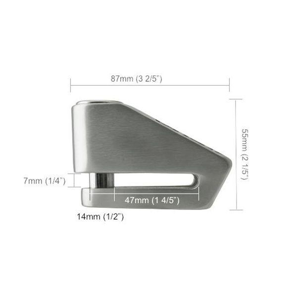Xena Bloque disque X2 Carbone SRA