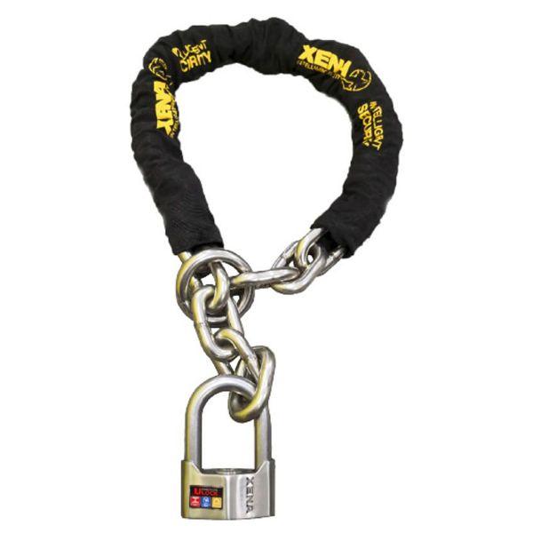Chaines Xena Chaîne 120cm Lasso + U 69MM SRA