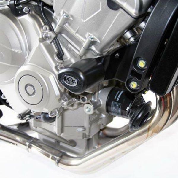 Pare-carter & tampons R&G Racing Tampons De Protection Aero Honda CBF600S (08-13)